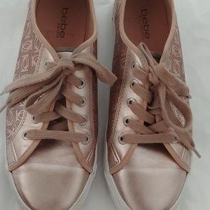 Bebe Gold Rose Sneaker